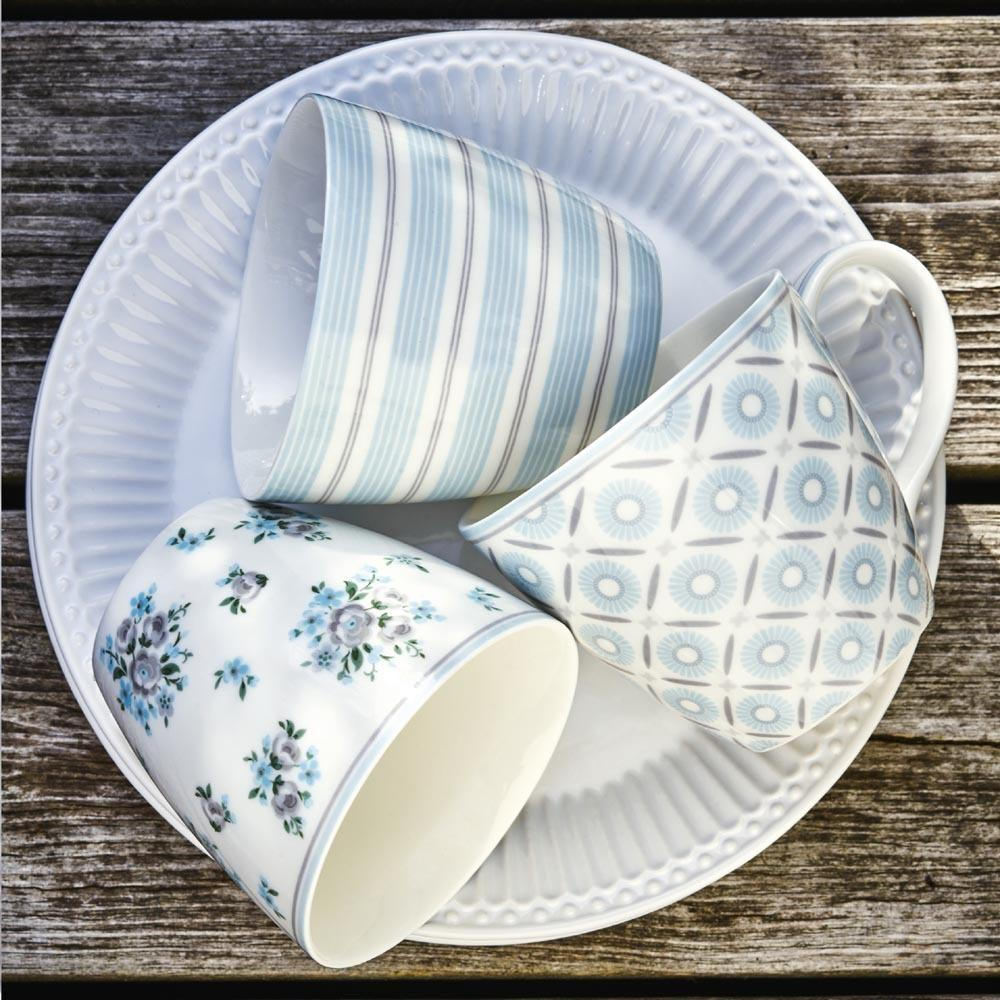 Latte mug Saga white Greengate