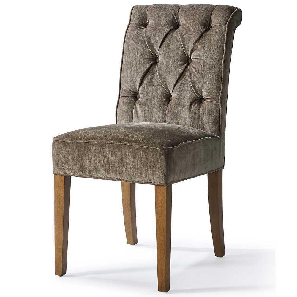 Hampton Classic Dining Chair Velvet Olive Riviéra Maison