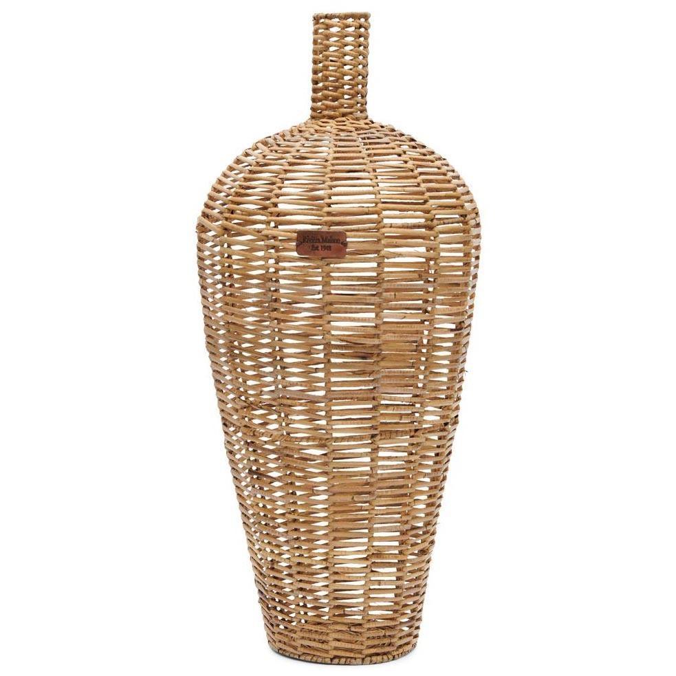Rustic Rattan Weave Vase Riviéra Maison