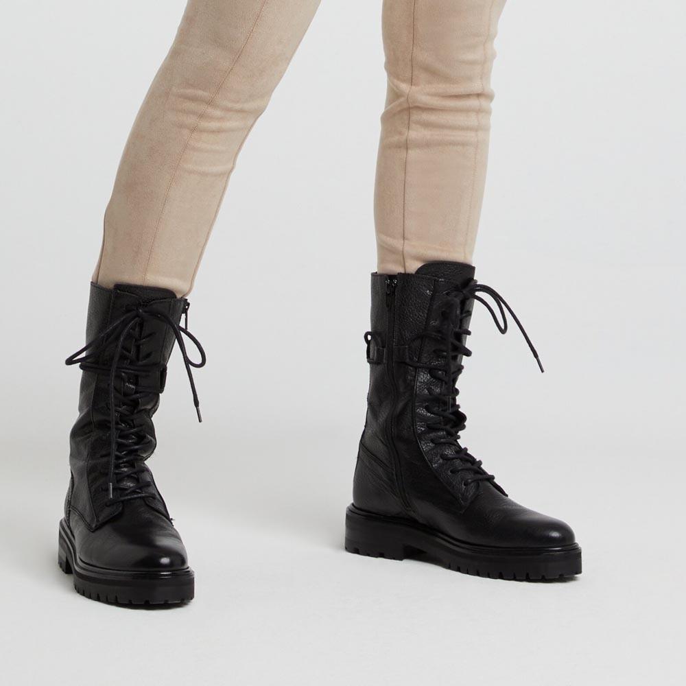 KENGÄT Leather black Yaya