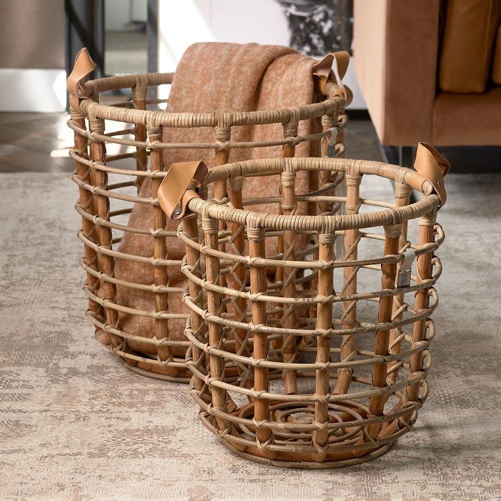 Courageous Chique Basket Natural Riviéra Maison