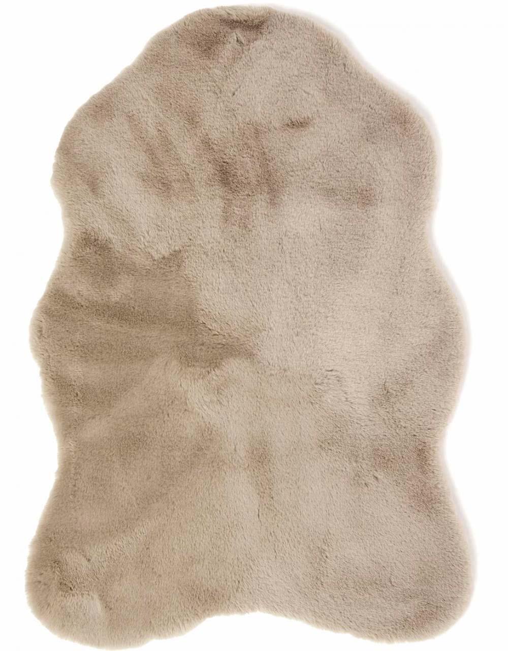 TALJA Fluffy taupe Skinnwille