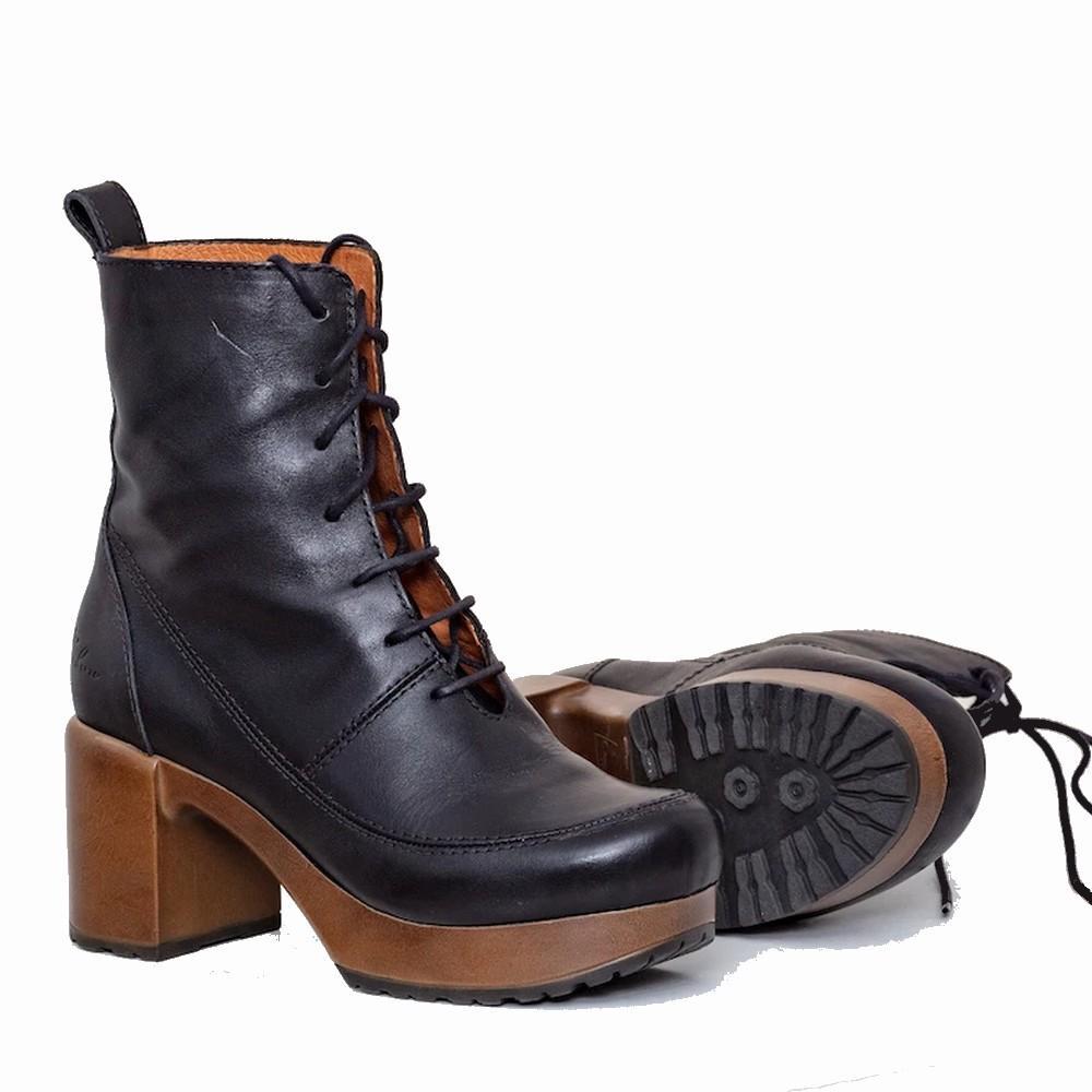 CALOU Greta boot black